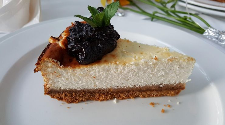 Cheesecake proteic
