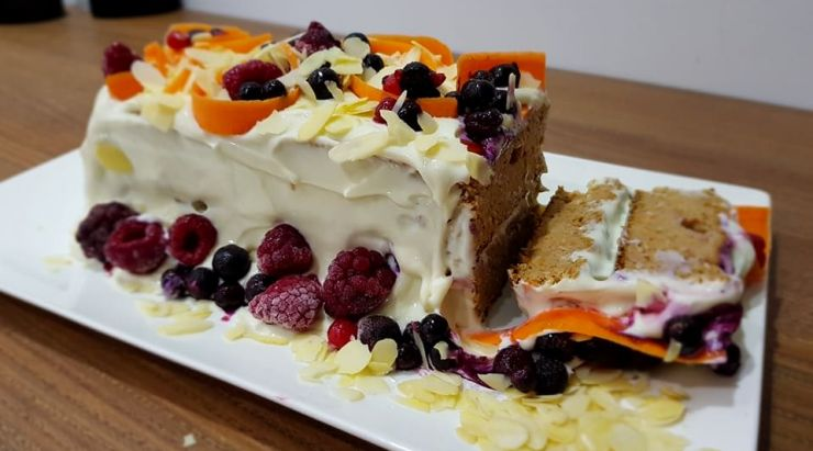 Carrotcake proteic